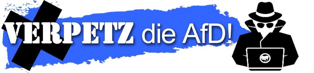 Verpetz die AfD! – Antifaschistisches Meldeportal